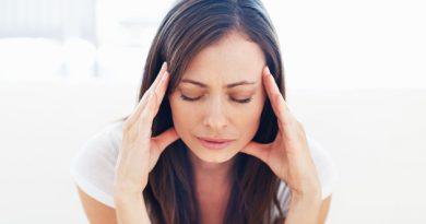 CWGFP4 Portrait of stressed woman having head pain