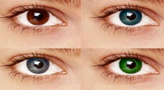 - Colore degli occhi diversi ...