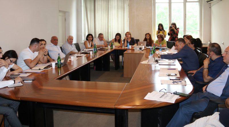 Քաղաքացիական հասարակության ներկայացուցիչների հետ քննարկվել է ԱՆ բյուջետային ֆինանսավորման հայտը