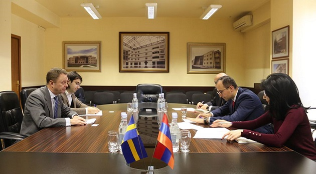 (Armenia) Քննարկվել են համագործակցության հեռանկարները