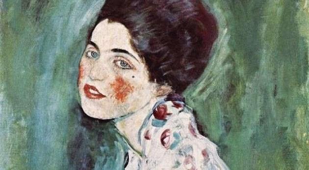 В Италии в стене галереи нашли украденную картину Климта «Портрет женщины»
