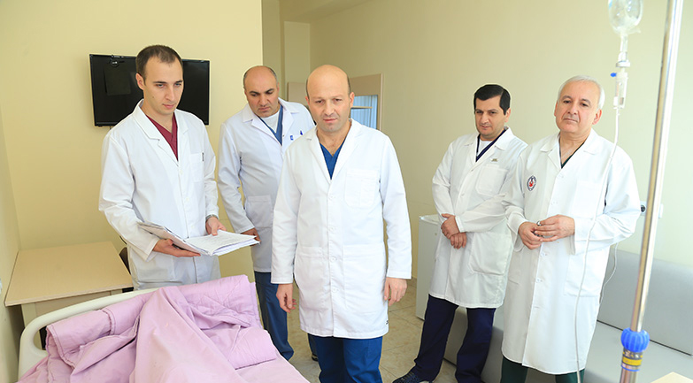 Ուռուցքաբանության ազգային կենտրոնում հերթական բարդ վիրահատությունն է կատարվել