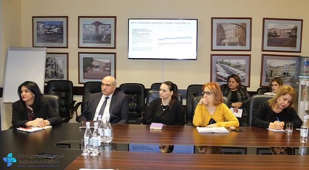 (Armenia) Միջգերատեսչական աշխատանքային քննարկում