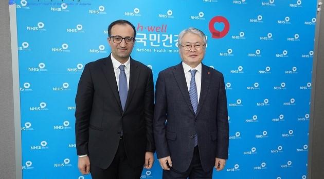 Արսեն Թորոսյանը հանդիպել է Կորեայի Ազգային առողջապահական ապահովագրական ծառայության նախագահին