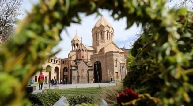 (Armenia) Այսօր Հայ Առաքելական Սուրբ Եկեղեցին տոնում է Ծաղկազարդը