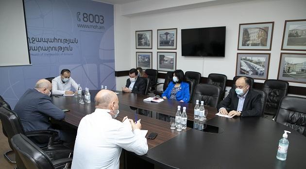 (Armenia) Նախարարը հանդիպել է ՀՎԿԱԿ-ի մասնաճյուղերի տնօրեններին