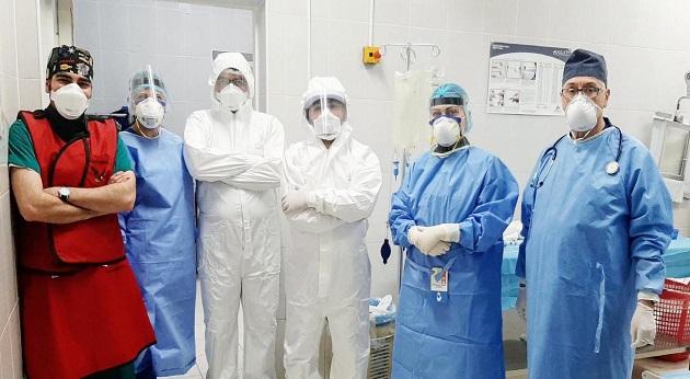 (Armenia) Համալսարանական նյարդավիրաբույժները կատարել են COVID-19-ով հիվանդի առաջային կապակցող զարկերակի պատռված պարկաձև անևրիզմայի բուժում