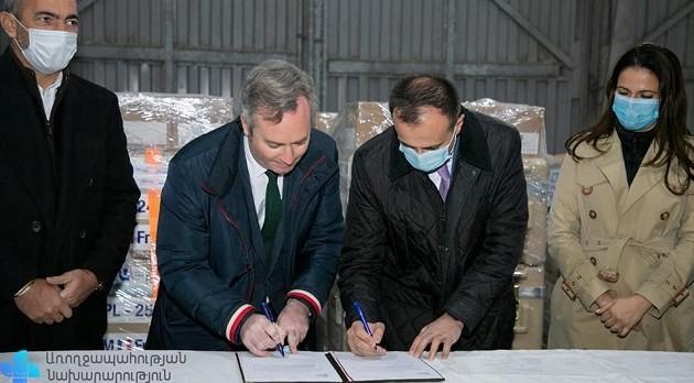 (Armenia) Մարդասիրական օգնություն Ֆրանսիայից