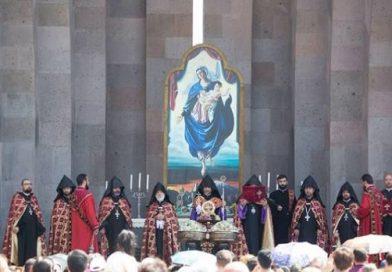 (Armenia) Մայր Աթոռում նշվել է Սուրբ Աստվածածնի Վերափոխման տոնը