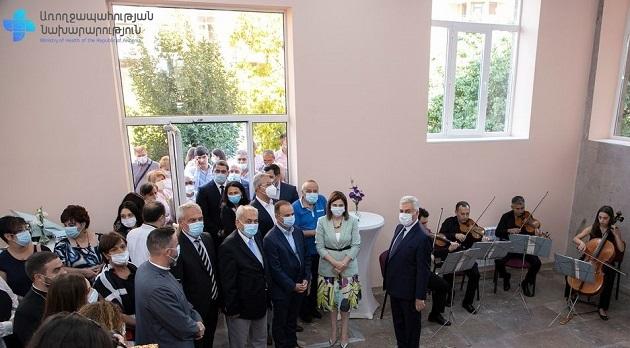 (Armenia) Հեմոֆիլիայի և թրոմբոզների կենտրոն է բացվել